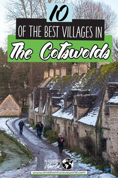 From wandering around Castle Combe to seeing the infamous Mill at Lower Slaughter, these are the best villages in the Cotswolds for your next adventure! #Cotswolds #CotswoldsGuide #CotswoldsTravel #CotswoldsVillages #TheCotswolds #Engand #VisitEngland