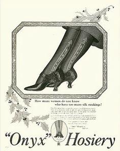 **FREE ViNTaGE DiGiTaL STaMPS**: FREE Vintage Images - vintage hosiery advertisement
