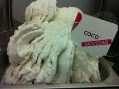 Crema de Coco de Heladerias Moka Malaga