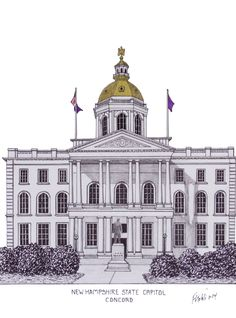 architectural drawings of famous buildings. Brilliant Drawings New Hampshire State Capitol Building In Concord More Info At  Httpfrederic To Architectural Drawings Of Famous Buildings