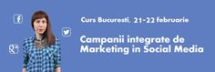 "Va invit la trainingul ""Campanii integrate de Marketing in Social Media""! | Read My Mind Integrity, Online Marketing, Mindfulness, Social Media, Reading, Data Integrity, Reading Books, Social Networks, Consciousness"