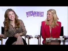 Pitch Perfect cast interview. they are too funny