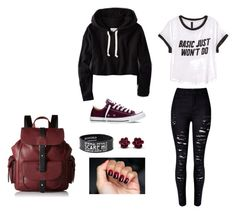 """Chill"" by herediahailie ❤ liked on Polyvore featuring мода, H&M, American Eagle Outfitters, Converse, Kenneth Cole Reaction, women's clothing, women, female, woman и misses"
