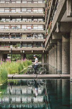 Architecture Life, Landscape Architecture, Landscape Design, New Interior Design, Barbican, Building Structure, Brutalist, Construction, Rooftops