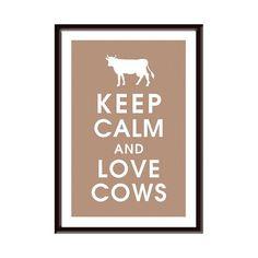 I love cows! <3