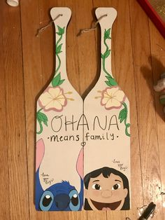 Lilo and Stitch Themed Sorority Paddle | Ohana | Big Little | Big Little Revel | Greek Life | sorority | Disney