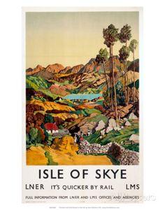 Isle of Skye, LNER, c.1939 Prints at AllPosters.com