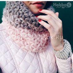 Снуд от Kabba   Вязание для женщин   Вязание спицами и крючком. Схемы вязания.