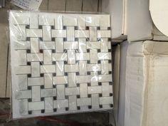 Volakas marble mosaic tile