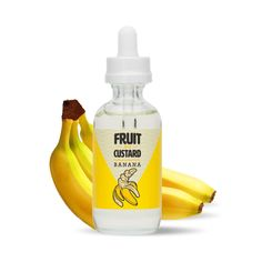 Banana Custard - Fruit N Custard E Liquid Fruit Custard, Vanilla Custard, Vape Facts, Vape Design, Vape Juice, Coffee Cake, Vaping, Banana, Sweet