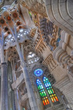 Sagrada Família, is a large Roman Catholic church in Barcelona, Catalonia, Spain, designed by Catalan architect Antoni Gaudí (1852–1926)