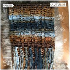 Vorige week al een soort preview gepost en nu is shawl Elif af. Mooie tinten in de shawl door de geweldige wol van de Zeeman, in totaal6 bollen nodig geh