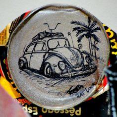 A #ArteRude que nunca para… Em exposição na loja GoodVibes - Nova Friburgo - RJ  #CasaduCaboclo #VwBug #RothFink #RatFink #RatLook #Volkswagen #Fusca #Ink #Sketch #RespeitaaSerra #SerraCariocaTosth.