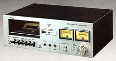 Aurex PC-2260 1970 Cassette Recorder, Tape Recorder, Audio System, Decks, Technology, Electronics, Vintage, Nostalgia, Tecnologia
