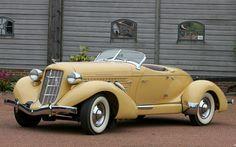 1935 Auburn 851 SC Roadster
