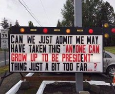 Anyone Can Grow Up to be President http://ibeebz.com