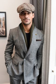 David Gandy - Front Row: Day 2 - London Collections Men AW16 - January 9, 2016