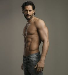 Oh the muscles. How I love the men of True Blood! Yum!