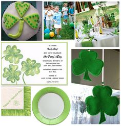 st patricks day party ideas for kids
