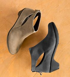"""Dansko® Bonita Ankle Boot from the Barcelona Collection - ankle cutout, heel zipper and a 2"""" heel."""