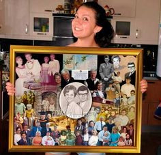 Wedding Anniversary Photo Gift Ideas For Parents Picture Collage Greetings Happy