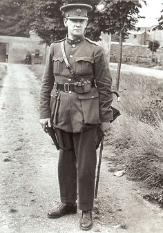 Michael Collins, Revolutionary And Founder Of The Irish Free State. Photo 1919. He did what was thought to be impossible.