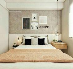 The Home Decor Guru – Interior Design For Bedrooms Home Decor Bedroom, Master Bedroom, Bedroom Ideas, Couple Room, New Room, House Rooms, Room Inspiration, Interior Design, Decorating Hacks