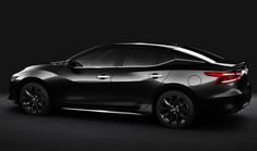 2017 Nissan Maxima - sideview