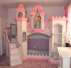Castle bed. I'm 21 years old and would totally kill for this bed right now