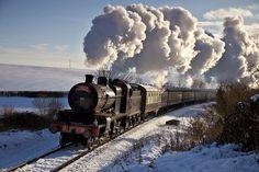 "pagewoman: "" The Santa Express :) West Somerset Railway """