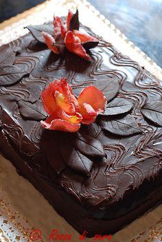 Operà mignon di Montersino in versione torta