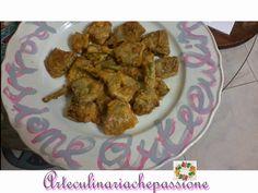 Arte culinaria che passione @ Passion for cooking: Carciofi dorati e fritti @ Artichokes and golden f...