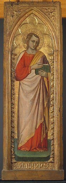 Spinello Aretino - San Filippo - 1384-1385 - Tempera e oro su tavola - The Metropolitan Museum of Art, New York