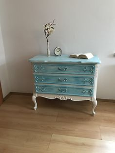 Vintage Kommode Wäschekommode Chippendale Barock Shabby Chic Brocante Dresser, Shabby, Etsy, Antiques, Furniture, Home Decor, Vintage Chest Of Drawers, Baroque, Antiquities