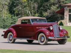 1937 Packard Six Convertible Coupe
