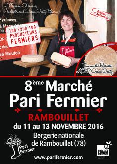 8ème marché d'automne Pari Fermier à Rambouillet (78)
