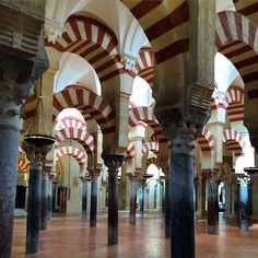 the endless arches of the grand córdoba mesquita #mesquita #cordoba #arch #mosque #cathedral #muslim #andalucía #spain #trip #travel #city #córdoba #arches #andalusia #españa #instatravel #holiday #scootertrip by janco_travels