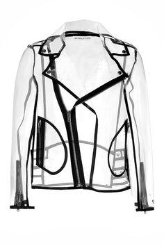 Transparent Biker Jacket detail 0