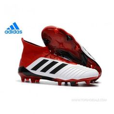 the latest 180ec c7faa Regular product Adidas PREDATOR 18.1 FG CM7410 White Core Black Real Coral  Soccer Shoes