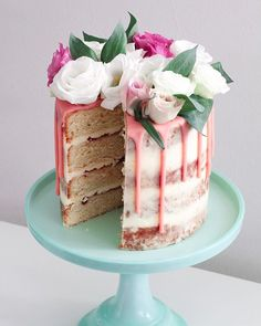 How glorious has the sunshine been today! Heres a little #tbt to my pink drip cake!     #Dripcake #flowers #throwback #sunshine #yum #Thursday #pink #fondant #chocolate #vanilla #layercake #swissmeringuebuttercream #homemade #baking #undiscoveredbaker #cake #cakestagram #happy #pretty #bakinglife #maisieskitchen #sponge #buttercream #frosting #recipe #foodie #London