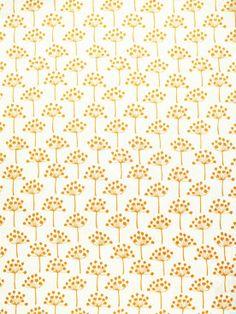 Brooklyn-based, Swedish artist, Lotta Jansdotter just released a line of fabrics