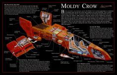 HWK-290 | The Incredible Cross Sections Moldy Crow by MillenniumFalsehood