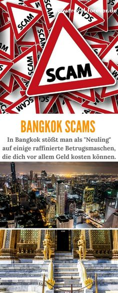 Ok, you decided to go to Thailand (or you are on the fence); I will try to list all possible scams in Thailand, s… Bangkok Thailand, Beste Reisezeit Thailand, Koh Lanta Thailand, Thailand Travel Tips, Backpacking Thailand, Bangkok Shopping, Bangkok Hotel, Bangkok Travel, Asia Travel