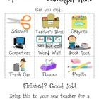 This is a cute little scavenger hunt to give students on Open House Night so that you can talk to the parents while the students are exploring thei. Owl Classroom, Kindergarten Classroom, Classroom Organization, Classroom Management, Classroom Ideas, Classroom Scavenger Hunt, School Scavenger Hunt, Back To School Night, First Day Of School