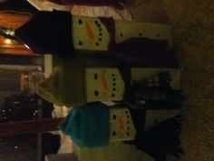 Snowman Family. Little