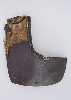 Left Breastplate from a Brigandine Early 15th (1400-1425)