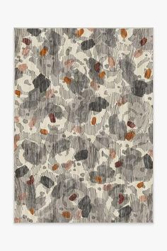 Our Leona Warm Grey rug features an abstract floral design of overlapping hatch marks and watercolor brushstrokes in neutral grey tones with pops of red and orange. Machine Washable Rugs, 8x10 Area Rugs, Yellow Rug, Natural Rug, Red Rugs, Warm Grey, Rug Cleaning, Woven Rug, House