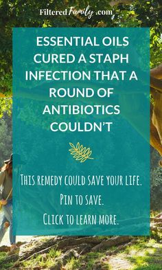 This natural recipe is amazing! I tried EVERYTHING including antibiotics but it was this mixture that finally got rid of a staph infection that covered 95% of a kid's body! --Natural Remedy for Staph Infection | via FilteredFamily.com