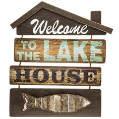 Welcome To The Lake Signs Decor Gorgeous Lake House Decor Personalized Lake Signs Custom Welcome To The Design Ideas