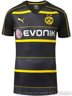 Borussia Dortmund 2016-17 Puma Away Kit